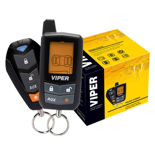 Viper 5305V 2-Way Car Security and Remote Start System - Installed