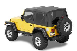 Bestop Supertop NX Complete Replacement Soft Top - Jeep 1997-2006 Wrangler