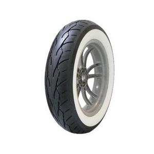 Vee Rubber W30210 VRM-302 Twin White Wall Rear Tire - 150/80 B16