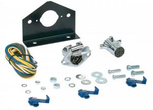 Hopkins Towing Solutions 48285 4 Pole Round Connector Kit