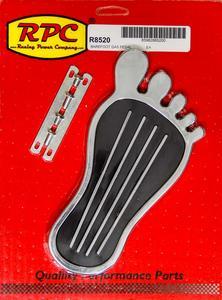 RACING POWER Steel Gas Pedal Pad P/N R8520