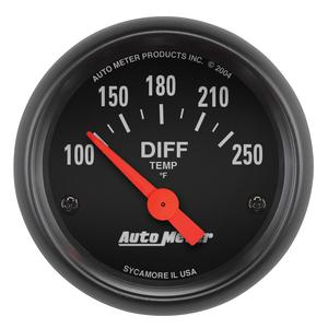 AutoMeter 2636 Z-Series Electric Differential Temperature Gauge