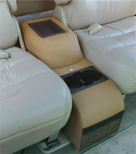 Vertically Driven Products 42015 Padded Catch All Center Console