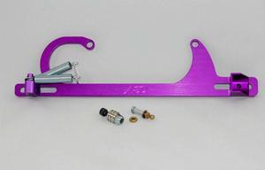 ADVANCED ENGINE DESIGN Purple Square Bore Throttle Cable Bracket Kit P/N 6600