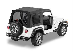 Bestop Replace-A-Top Fabric-only Soft Top - Jeep 1997-2002 Wrangler