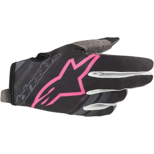 Alpinestars RDR Flight Gloves Dark Navy/Pink (Blue, Large)