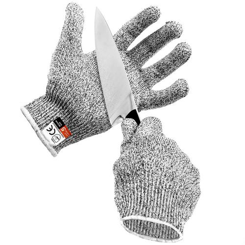Cut Resistant Gloves Food Grade Level 5 Protection Safety Kitchen Cuts  Gloves sold by KapscoMoto | Motoroso