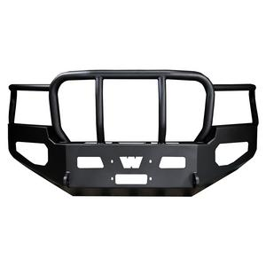 Warn Direct-Fit Mounting Grill Guard With Winch Mount Tow Hook Mounts Black Stee