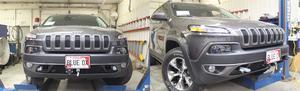 Blue Ox BX1136 Tow Bar Base Plate Fits 14-17 Cherokee (KL)