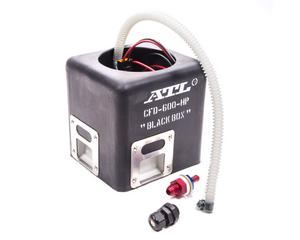 ATL Surge Tank 102 lph Black Box Electric Fuel Pump Kit P/N CFD-600-HP