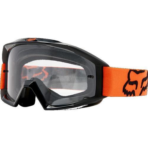 Fox Main Goggles Orange / Clear Lens (Orange, OSFM)