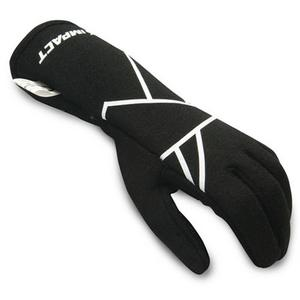 IMPACT Youth SM Black/White Double Layer Mini Axis Driving Gloves P/N 38500310