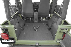 BedRug BTTJ97R BedTred Cargo Kit Fits 97-06 Wrangler (TJ)