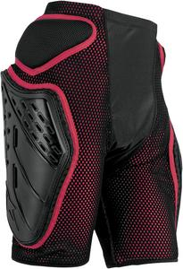 Alpinestars Bionic Freeride Protection Shorts Red/Black Mens Size L
