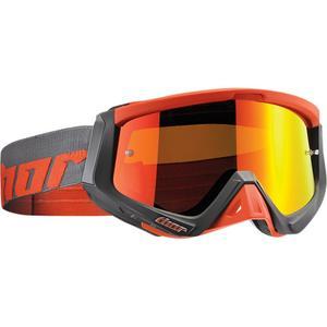 Thor Sniper Warship Goggles Charcoal/Orange (Orange, OSFM)