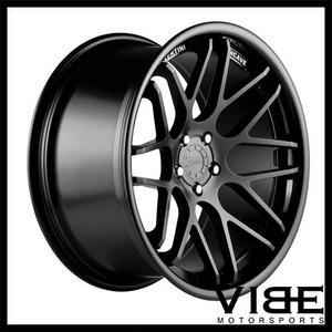 """20"""" VERTINI MAGIC BLACK CONCAVE WHEELS RIMS FITS BENZ W212 E350 E550 E63"""