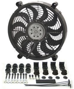 DERALE 14 in 2100 CFM HO RAD Electric Cooling Fan P/N 16214