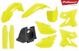 Polisport 90745 Restyle Plastic Kit - Flo Yellow
