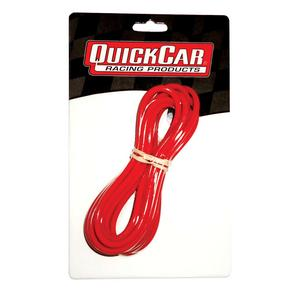 QUICKCAR RACING PRODUCTS 14 Gauge Red 10 ft Wire P/N 57-2011