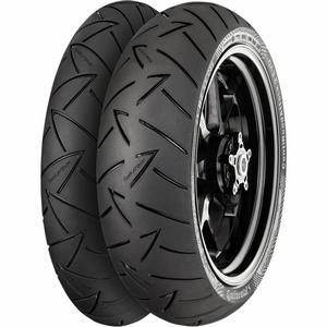 Continental 02443000000 Conti Road Attack 2 Hyper Sport Touring Rear Tire - 130/ 80R-17