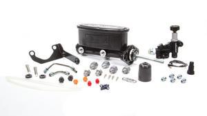 WILWOOD 15/16 in Bore Tandem Aluminum Master Cylinder Kit P/N 261-13626-BK