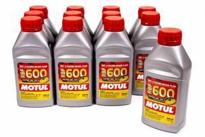 Motul USA DOT 4 Brake Fluid 500ml Case of 12 P/N 100949-12