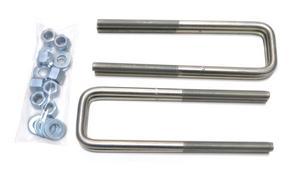 CST Performance Suspension CSU-N15-8 U-Bolt Kit Fits 05-15 Frontier