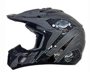 AFX 0132-0812 Helmet Peak for FX-17 Gear - Frost Gray