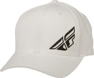 Fly Racing 2015 ADULT F-Wing Hat White S-M