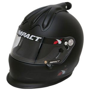 IMPACT RACING X-Large Flat Black Super Charger Helmet P/N 17015612