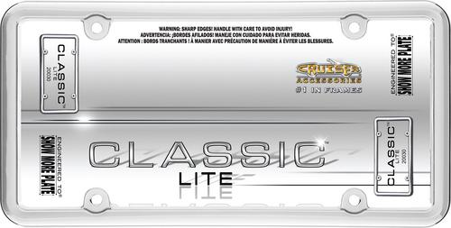Cruiser Accessories 20030 Core License Plate Frame