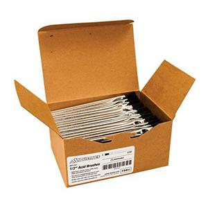 """AES Industries 1/2"""" Acid Brush, Pack of 144 (AES-547)"""
