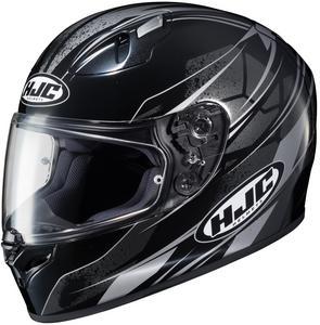 HJC FG-17 Toba Helmet Black (MC-5) (Black, X-Small)