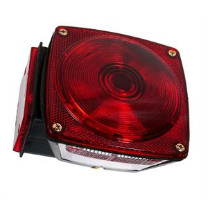 Grote U.S. 440 Series, Utility Trailer Lighting - Red, LH (52312)