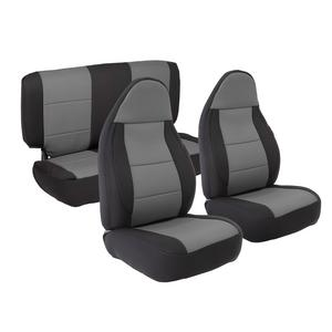 Smittybilt 471322 Neoprene Seat Cover Fits 03-06 Wrangler (LJ) Wrangler (TJ)