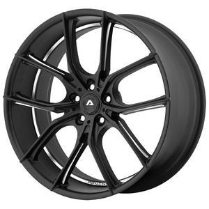 "Adventus AVX-6 22x10 5x120 +20mm Black/Milled Wheel Rim 22"" Inch"