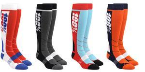 100% Casual Wear Socks Hi Side Orange Sock Pair Adult Size 6-9