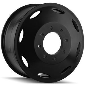 "Cali 9105 Brutal Dually Inner 22x8.25 8x6.5"" +115mm Black Wheel Rim 22"" Inch"