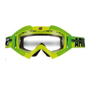 Ariete Riding Crows Top Collection Goggles Yellow/Green (Yellow, OSFM)
