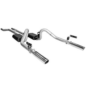 Flowmaster 817281 American Thunder Header Back Exhaust System Fits 67-70 Mustang