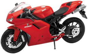 New Ray Toys 57143A Street Bike 1:12 Scale Motorcycle - Ducati 1198 - Red