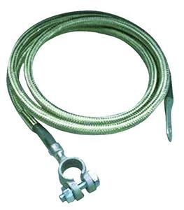 Taylor Cable 20024 Stainless Braided Diamondback Shielded Battery Cable