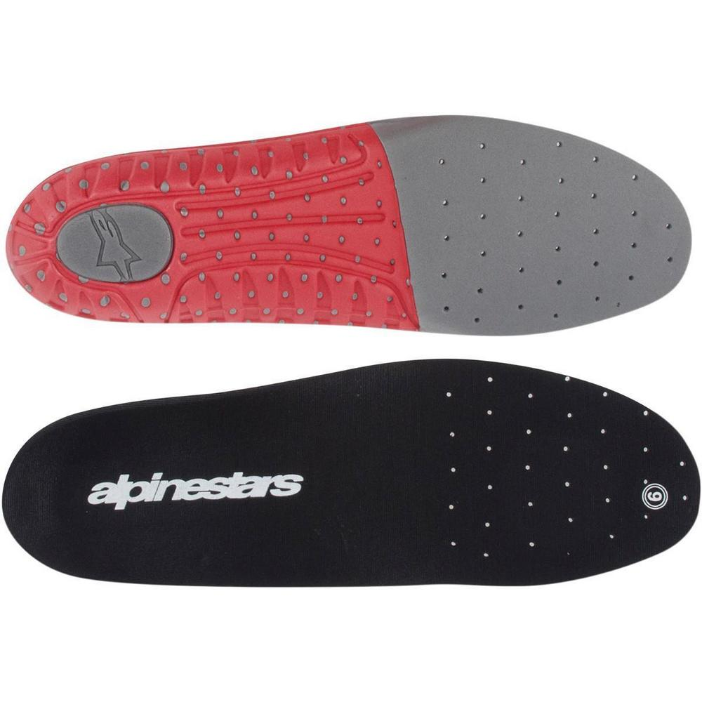 Alpinestars 25FUT74-05 Tech 7 Footbed - Size 5 - Gray/Red