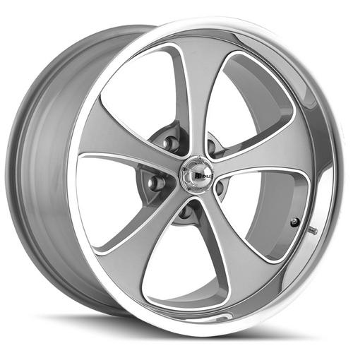"Ridler 645 20x10 5x4.75"" +0mm Gunmetal Wheel Rim 20"" Inch"