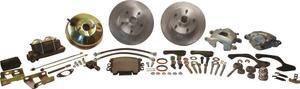 SSBC Performance Brakes A129-4 Drum To Disc Brake Conversion Kit