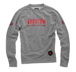 100% Barstow Brymann Sweatshirt (Gray, Medium)