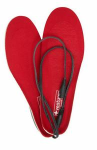 Venture 12V Heated Insoles Black (Red, Small 5-6)