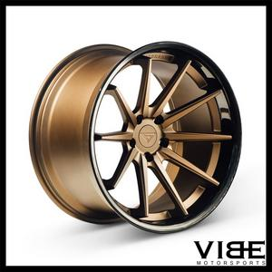 "20"" FERRADA FR4 BRONZE CONCAVE WHEELS RIMS FITS BMW E70 X5"
