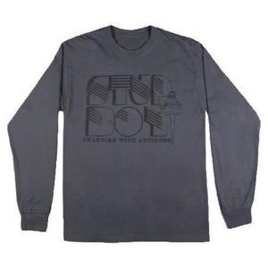 Stud Boy Long Sleeve T-Shirt (Gray, XX-Large)
