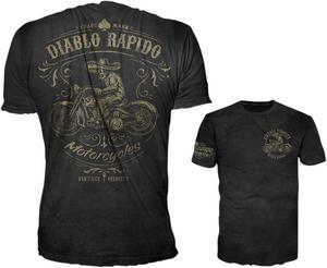 Lethal Threat Adult Diablo Rapido Black Tee Shirt M